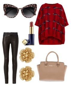 """Untitled #8869"" by ohnadine on Polyvore featuring Boutique Moschino, rag & bone, STELLA McCARTNEY, Michael Kors, Miriam Haskell and Estée Lauder"
