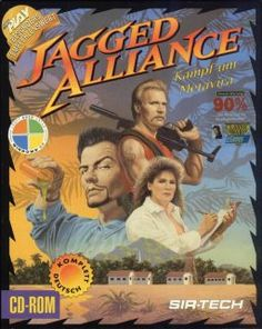 Jagged Alliance is a tactical role-playing game released in 1994 for MS-DOS and in 2009 for the Nintendo DS. It is the first game in the Jagged Alliance series, and was followed by Jagged Alliance: Deadly Games (1995) and Jagged Alliance 2 (1999).