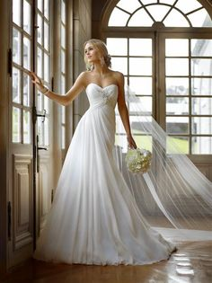 Wedding Dresses Perfect for You on Your Special Day. Via Inweddingdress.com #weddingdresses  I love this dress!