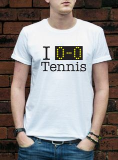 I LOVE ALL TENNIS T-SHIRT funny wimbledon joke mens womans gift cool TSHIRT L356