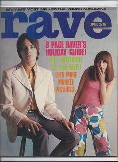 Rave magazine April 1967 Steve Marriott cover