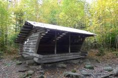 What is it like to sleep in an Appalachian Trail Shelter? West Carry Pond Shelter, Maine Appalachian Trail