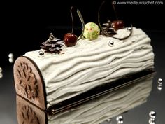Black Forest Yule Log - Meilleur du Chef