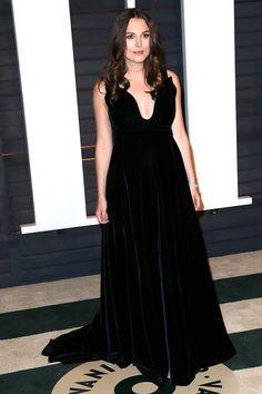 Keira Knightley in Valentino Couture   - HarpersBAZAAR.com