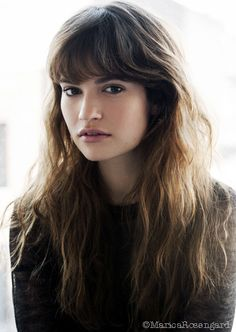 Lily James. Downton Abbey (Rose)