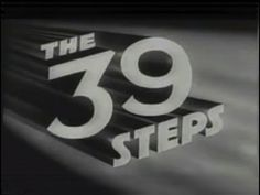 "'The 39 Steps', 1935 — directed by Alfred Hitchcock, starring Robert Donat and Madeleine Carroll. At about the 1 hour mark, a scene that manages to be hilarious, witty and sexy all at once. ""Can I be of any assistance?"""
