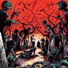 Zombies art hq