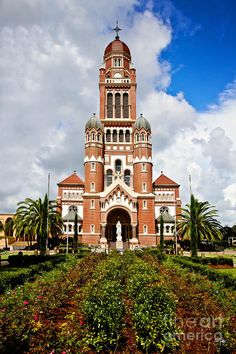 """""""The Cathedral of Saint John the Evangelist"""" in downtown Lafayette, LA."""