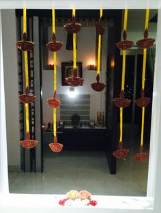 Diwali decor at home