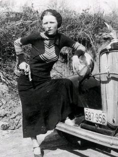 Bonnie Parker 1933r.