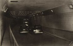 Maastunnel, Rotterdam 1957 ©Spanjersberg, Rotterdam