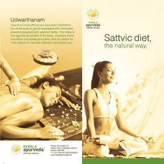 Udwarthanam  Sattvic diet, the natural way.