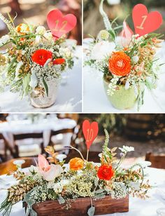 Whether you're having a wedding or hosting a party, the floral and plant arrangements can have a big impact on the event aesthetics. They can provide texture, color and certainly set the mood — traditional and romantic, or quirky and whimsical. Here are a few arrangement styles to inspire your celebration.