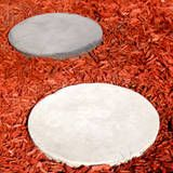 Basic stepping stone tutorial. Use plastic planter saucers.