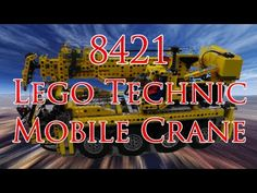 Hi Theo here, today from my Lego Technics Channel, I'm going to build the Lego Technics 8421 Mobile Crane..