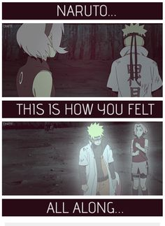 Naruto and Sakura Road to Ninja - And yet you didn't change when you got back, Sakura! You could have helped him! Sorry, still mad.