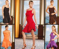 Volant Wrap Latin Dance Skirt