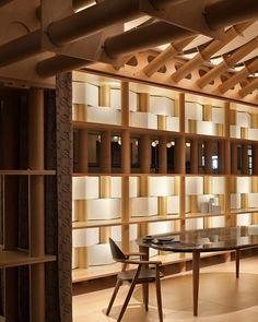 Hermès Paper Pavillon by Shigeru Ban at Milano Design Week. Shigeru Ban, Paper Architecture, Sustainable Architecture, Interior Architecture, Ancient Architecture, Landscape Architecture, Temporary Architecture, Boutiques, Tokyo Midtown