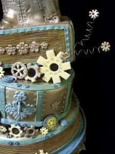#steampunk cake. This must have taken an age to make!