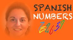 Spanish numbers. Spanish for kids - with drill (+playlist)