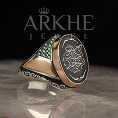 """""""Ey Yahya, kitaba sımsıkı sarıl"""" Yazılı Gümüş Erkek Yüzük - Arkhe Jewel Class Ring, Rings For Men, Jewelry, Men Rings, Jewlery, Jewerly, Schmuck, Jewels, Jewelery"""