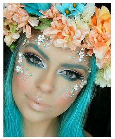 Tolle und simple DIY Schminktipps für Fasching – Schminkideen Karneval DIY make-up tips for carnival – enchanting fairy creatures Makeup Trends, Makeup Tips, Makeup Ideas, Makeup Tutorials, Makeup Hacks, Makeup Designs, Makeup Inspo, Hair Trends, Karneval Diy