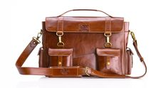 The Chairman - Handmade / Messenger Bag / Cowhide Leather / Satchel / Carry On / Briefcase / High Quality / Shoulder Bag / Laptop / iPad / Hip Bag / Travel Bag / Work / Professional— Bros. Leather Supply Co.