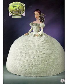 The Golden age of Film Collection The King and I Fashion Doll Crochet Pattern Annies Attic 8401