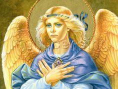 Archangel Gabriel by Zorina Baldescu