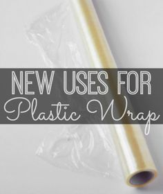 Six new uses for plastic wrap | #sixonsaturday #newusesforthings #plasticwrap www.inspirationformoms.com