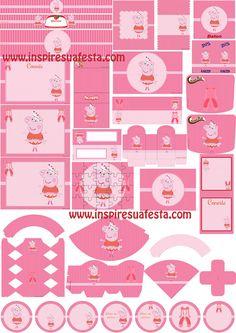 Peppa-Pig-Bailarina-Kit-digital-gratuito  http://inspiresuafesta.com/peppa-pig-bailarina-kit-digital-gratuito/