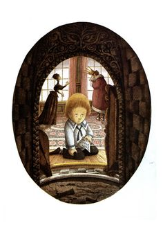 A School Bewitched. Written by Naomi Lewis from a story by E. Nesbit. Illustrated by Errol Le Cain.