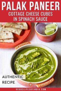 popular indian recipe of soft cottage cheese cubes in a mild spiced smooth spinach sauce. Recipe For Palak Paneer, Paneer Recipe Video, Paneer Recipes, Spinach Recipes, Veg Recipes, Curry Recipes, Indian Food Recipes, Vegetarian Recipes, Cooking Recipes