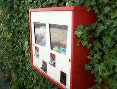 Ik moest altijd kijken bij de snoepautomaten