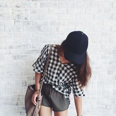 Gingham Open-Shoulder Top #Anthropologie #MyAnthroPhoto