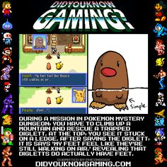 Did You Know Gaming? Pokemon and Diglett Pokemon Facts, Pokemon Memes, My Pokemon, Pokemon Stuff, Pokemon Chart, Pokemon Pins, Pokemon Funny, Gotta Catch Them All, Catch Em All