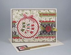 Carte trois bas de Noel Christmas Jingle