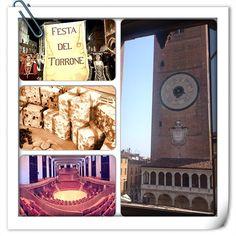 Collage! Torrone, torrazzo, auditorium....FESTA DEL TORRONE!