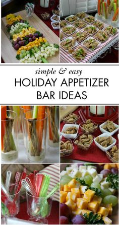 Impress your guests with an Appetizer Bar at your Christmas party. Here, you'll find tips and ideas for easy holiday entertaining, including serving a variety of fruits and cheeses with Town House Crackers!