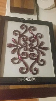Different Kinds, Crewel Embroidery, String Art, Decorative Boxes, Frame, Pattern, A Frame, Frames, Hoop