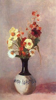 Odilon Redon 1840-1916 ~ Still Life | Tutt'Art@ | Pittura * Scultura * Poesia * Musica |