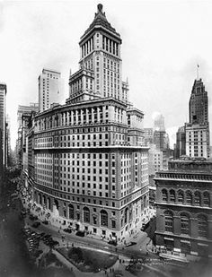 The Standard Oil building 26 Broadway, #NYC, #NY  Designed largely by Thomas Hastings.