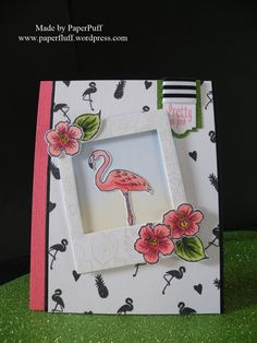 Hunkydory Flamingo Party from the For the Love of Stamps range