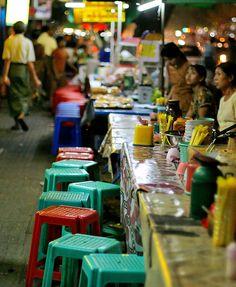 street food, Myanmar