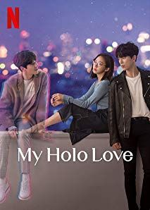 """Check out """"My Holo Love"""" on Netflix New Korean Drama, Korean Drama Romance, Korean Drama Movies, Series Movies, Film Movie, Tv Series, Drama Korea, Kdramas To Watch, Films Netflix"""