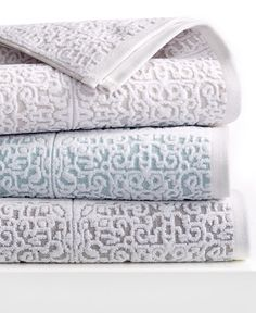Kassatex Madeira Bath Towel Collection - Bath Towels - Bed & Bath - Macy's