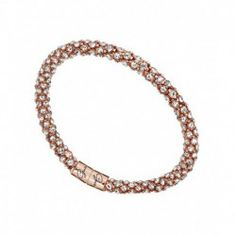 15359249fe Guess Glamazon Rose Gold Magnetic Bangle With Crystals Glamour