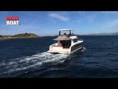 MY37 by Fountaine Pajot Motor Yachts - YouTube