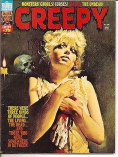 creepy+warren   May 1976 CREEPY #79 Warren Magazine  !