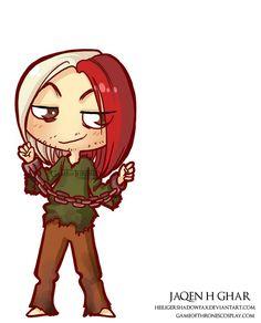 Jaqen H'Ghar // Game of Thrones cosplay group http://www.gameofthronescosplay.com   by Sara Manca http://heiligershadowfax.deviantart.com/